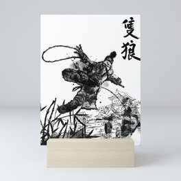 Young Wolf Mini Art Print