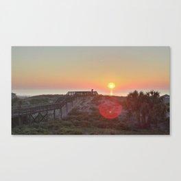Atlantic Coast Sunrise Canvas Print