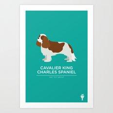 Cavalier King Charles Spaniel Art Print