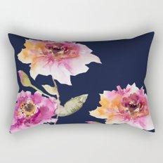 Dhalia -navy Rectangular Pillow