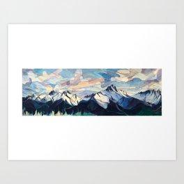 Tantalus Evenings Art Print