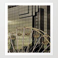 Wheel and the Hyatt Art Print