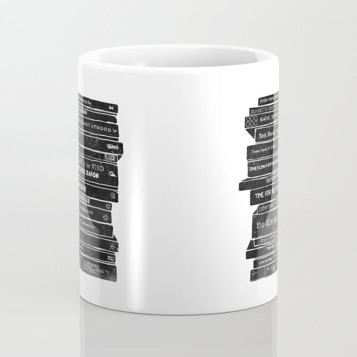 Mono book stack 1 Coffee Mug