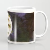 planet Mugs featuring 「planet.」 by Kaori Hoshina