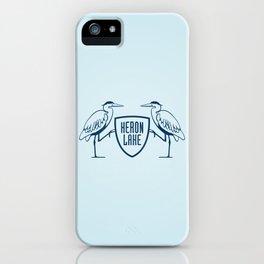 HERON LAKE iPhone Case