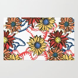 Flowerbomb Rug