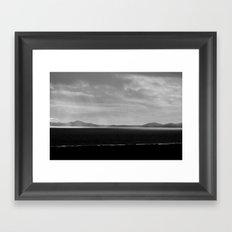 Fade to Grey Framed Art Print