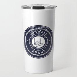 Whiskey & Cigars (Navy) Travel Mug