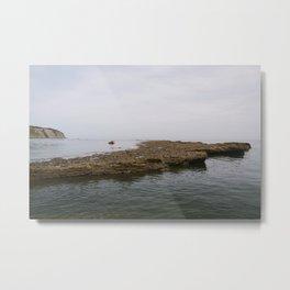 Seaside Stones Metal Print