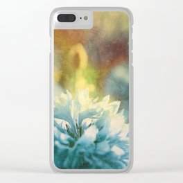 Blue Yonder Clear iPhone Case