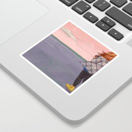 Testing for Product Marketing Sticker