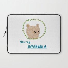 Bearable Bear Laptop Sleeve