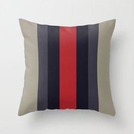 High Fashion Designer Style Stripes Throw Pillow