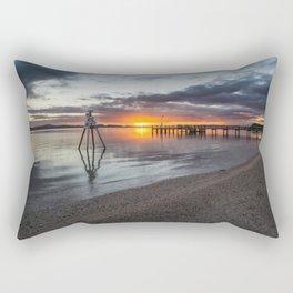 Satin & Sand Rectangular Pillow