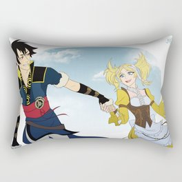 Lon'Qu and Lissa Rectangular Pillow