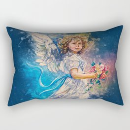 Guardian Angel Rectangular Pillow