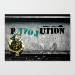 ABRACADABRA - R EVOL UTION Canvas Print