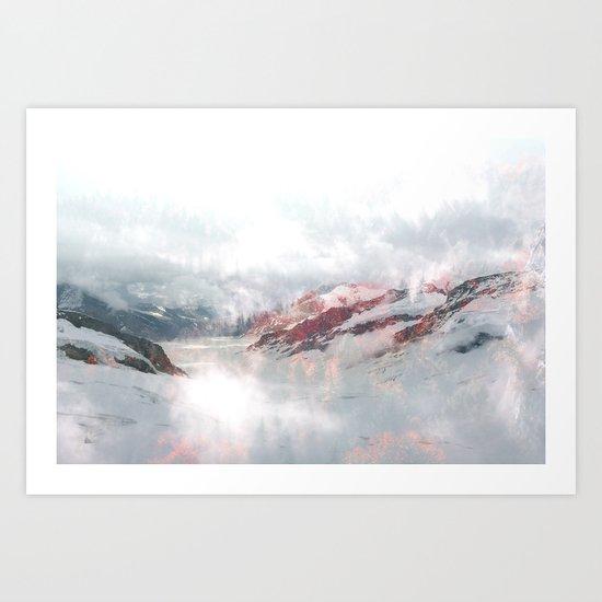 Foggy Dreams Art Print