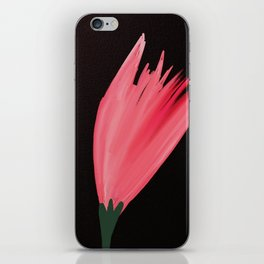 Simple floral beauty iPhone Skin