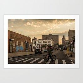 Bushwick Bound Art Print