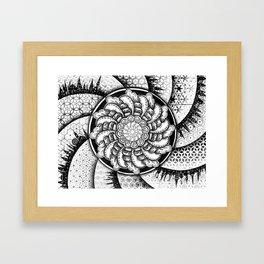 Spiral Universe Framed Art Print