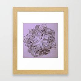 violet islet Framed Art Print