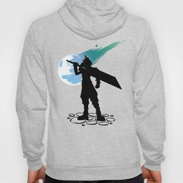 Cloud and the Meteor - Final Fantasy VII Hoody