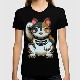 Maneki Neko Marron (Bare Version) T-shirt