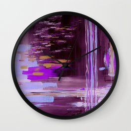 Inflection Wall Clock