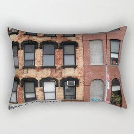 East Village, NYC Rectangular Pillow