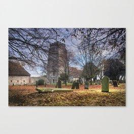 St Martin Aldington Canvas Print