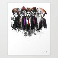 Shadowloo Showdown Art Print