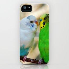 Budgie Friends iPhone Case