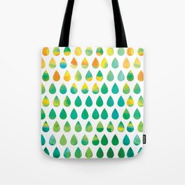 Monsoon Rain Tote Bag