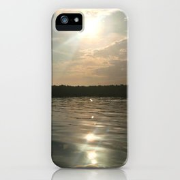 River Sun iPhone Case