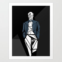 Corner Light Art Print