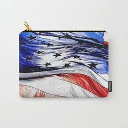 Land Of The Free. Carry-All Pouch