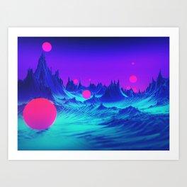 Mad World Art Print