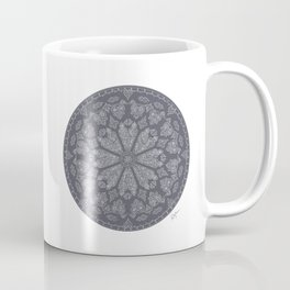Ultimate Gray Rose Window Coffee Mug