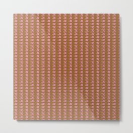 pinkbrown Metal Print