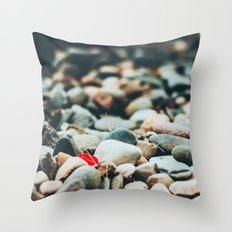 A Bit of Red Throw Pillow