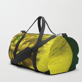 Buttercup Flower Close up Duffle Bag