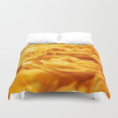 Loctaine in Yellow Duvet Cover