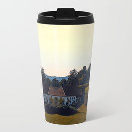 Beautiful farmland scenery | landscape photography Travel Mug