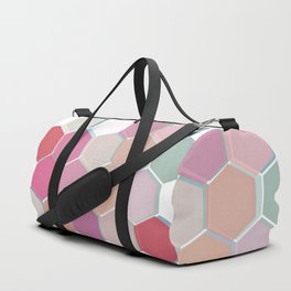 Layered Honeycomb 003 Duffle Bag