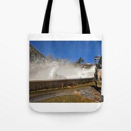 River spray Tote Bag