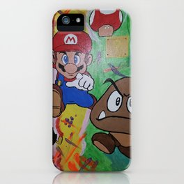 Mushroom World iPhone Case