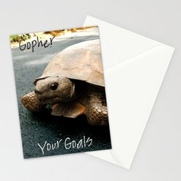 Gopher Your Goal Stationery Cards
