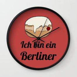 Ich bin ein Berliner Wall Clock