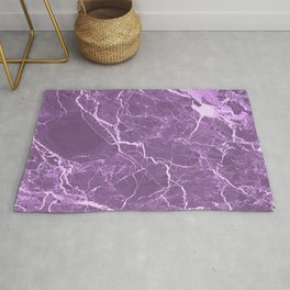 Lavender Rosso Marble Rug